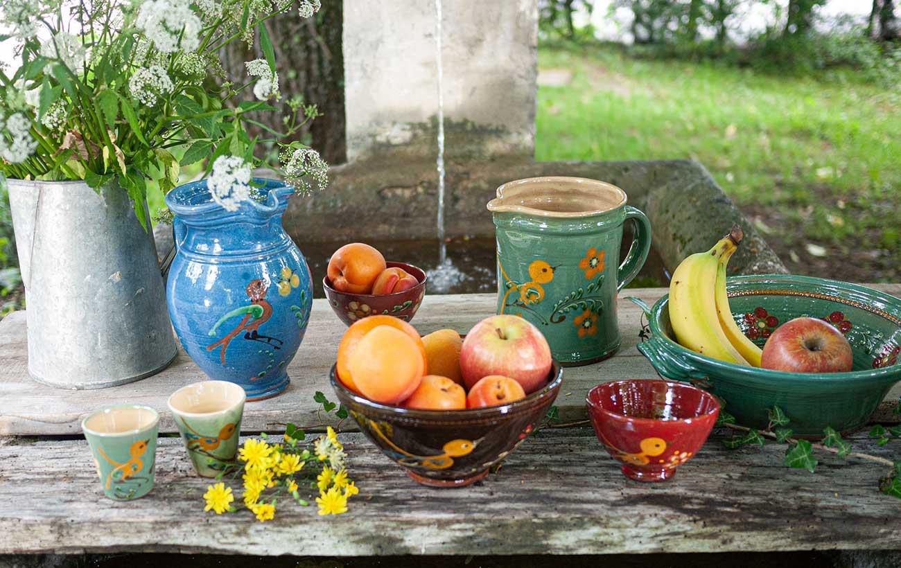 collection authentique tetras annecy savoie poterie