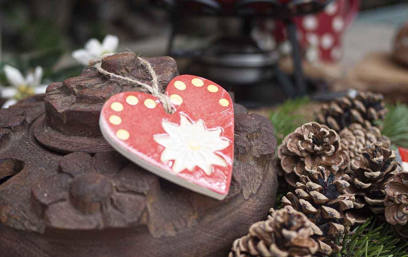 coeur poterie fait main