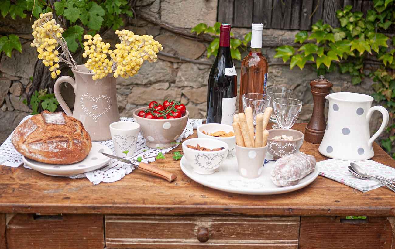 serice poterie tradition aperitif